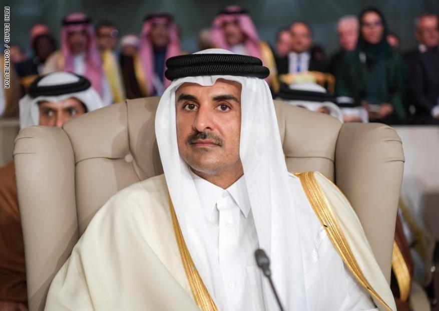 """أمير قطر: التطبيع مع """"إسرائيل"""" دون حل عادل لقضية فلسطين مجرد سراب"""