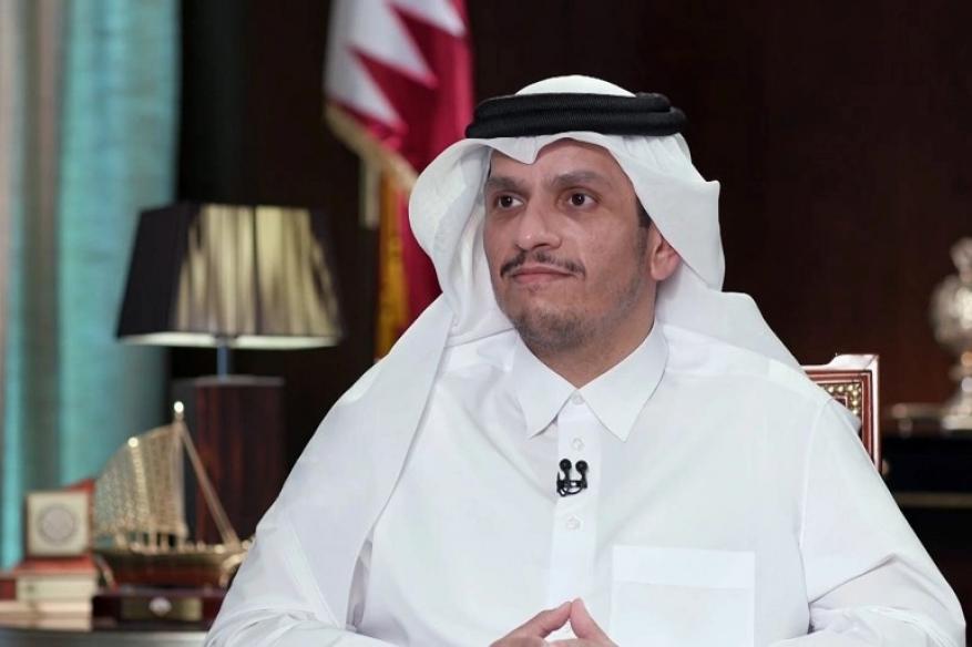 """وزير خارجية قطر: لا علاقة لحل الأزمة الخليجية بالتطبيع مع """"إسرائيل"""""""
