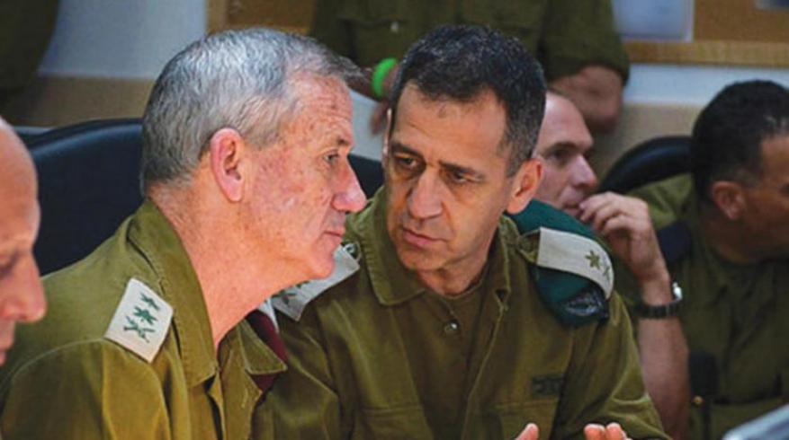 كوخافي يلتقي غانتس على خلفية التوتر الأمني وهجوم إيراني محتمل