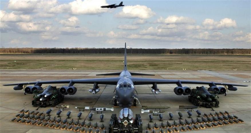 القيادة المركزية الأمريكية تنشر قاذفات B-52H في الشرق الأوسط