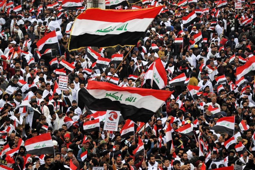العراق.. تظاهرات شعبية  ضد الوجود الأمريكي
