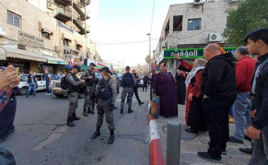 قوات الاحتلال تمنع وقفة تضامنية مع الأسرى المضربين بالقدس