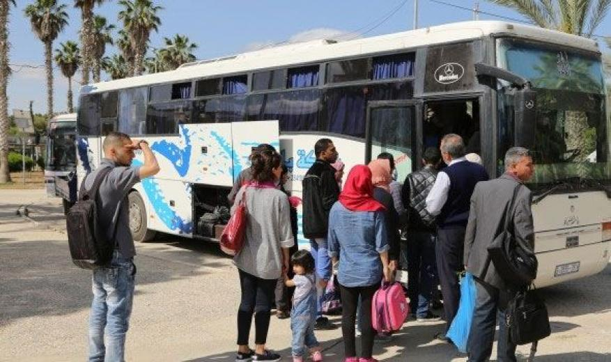 غزة: إعادة تشغيل الحافلات ضمن شروط وقائية