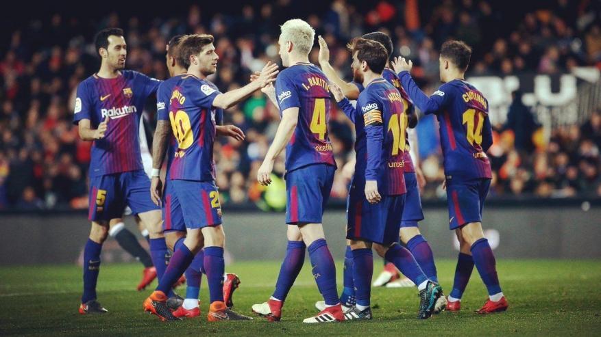 برشلونة يتأهل لدور الـ16 من كأس ملك إسبانيا