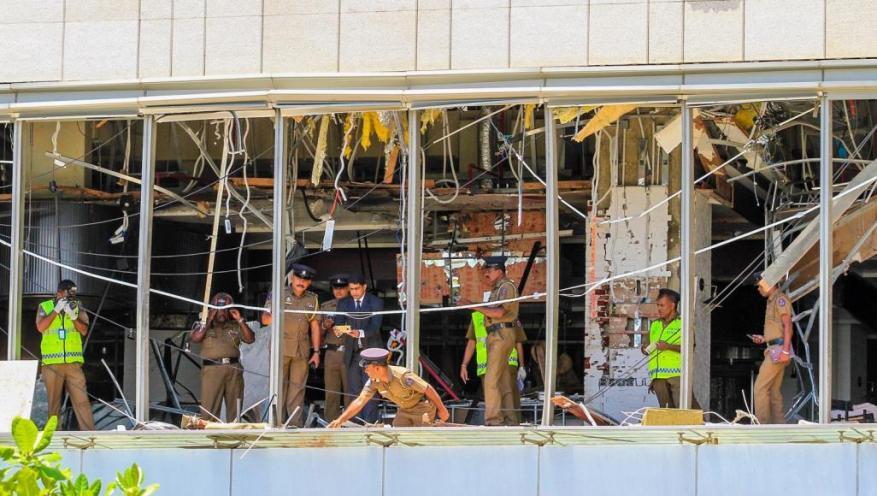 حماس: ندين بأشد العبارات هجمات سريلانكا الإرهابية