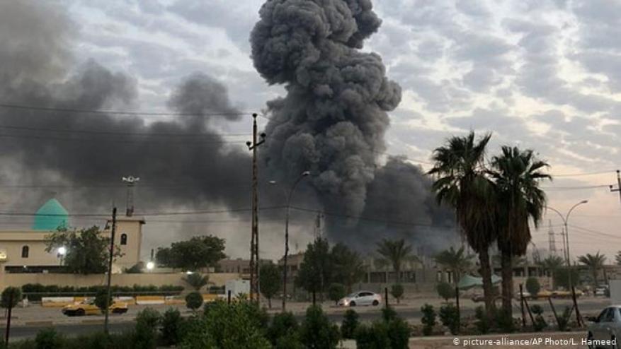 """واشنطن تبلغ العراق أن """"إسرائيل"""" قصفت مواقع للحشد الشعبي"""
