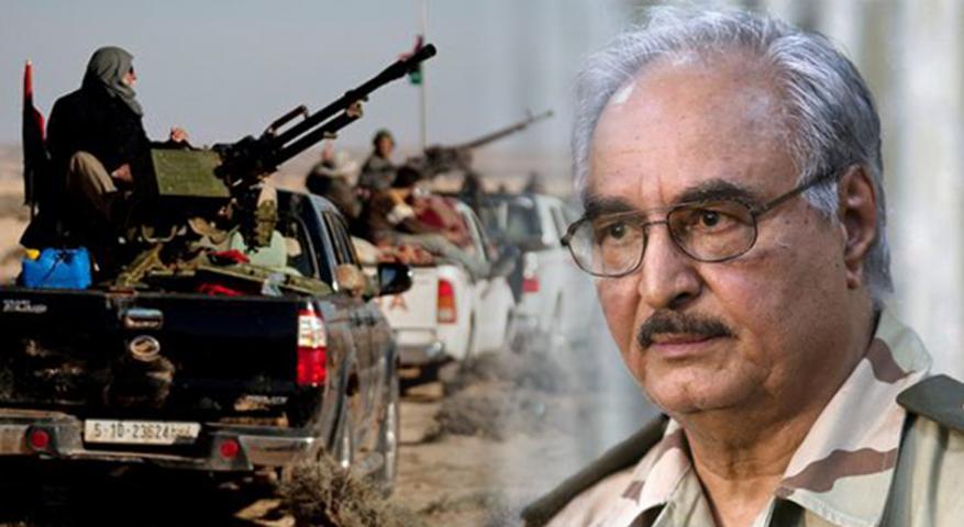 """حكومة الوفاق الليبية تدين """"الصمت"""" الدولي على """"جرائم"""" حفتر واستهداف المدنيين"""