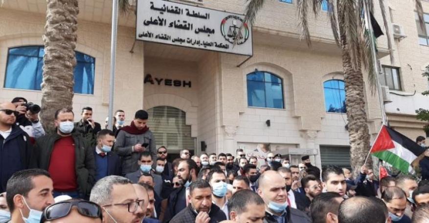 نقابة المحامين: تعليق العمل أمام جميع المحاكم النظامية الثلاثاء المقبل