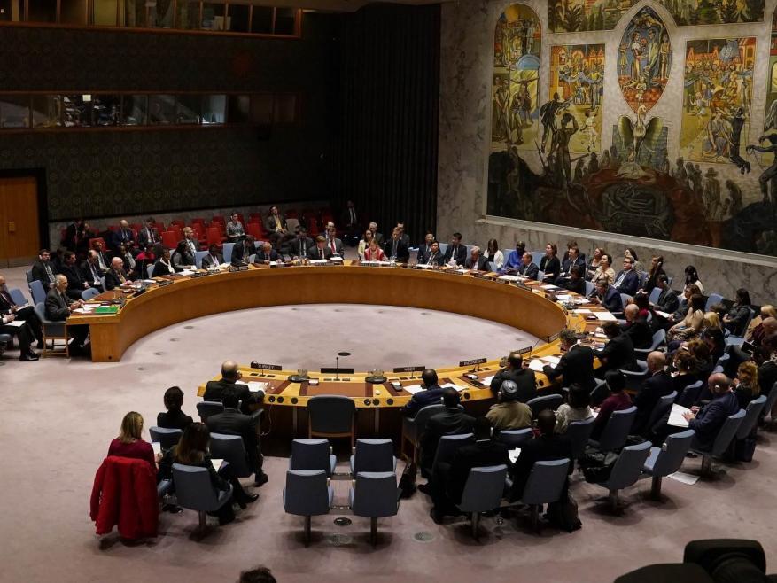 مجلس الأمن يناقش الأسبوع المقبل الحالة بالشرق الأوسط وفلسطين
