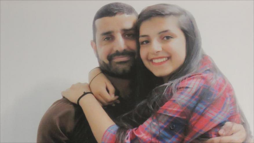 زينة بربر تسعد والدها الأسير بالتفوق في الثانوية العامة