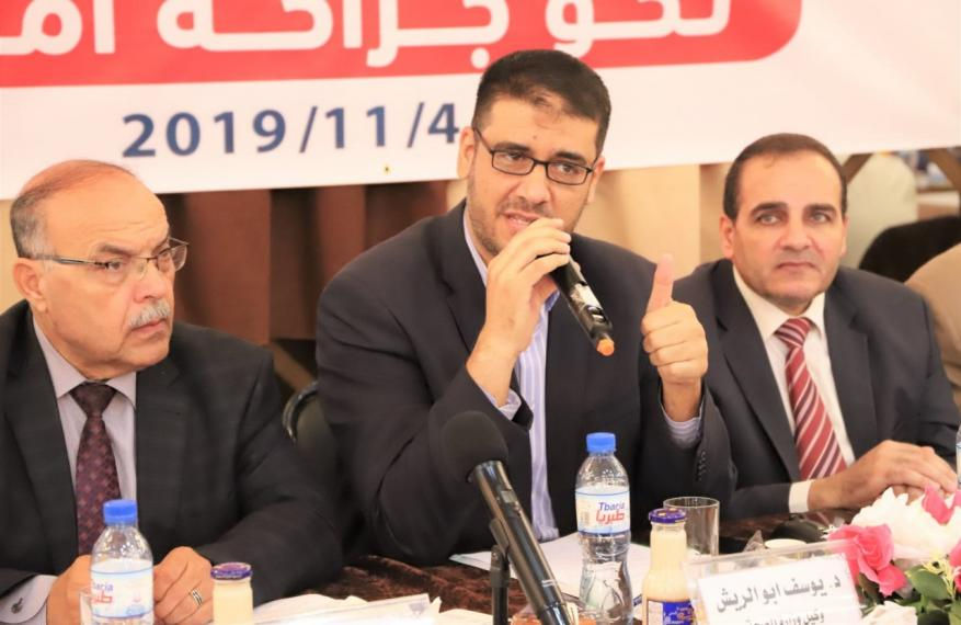 أبو الريش: نعمل وفق خطة طوارئ تراعي كافة الاحتمالات وتستثمر ما يتاح من موارد