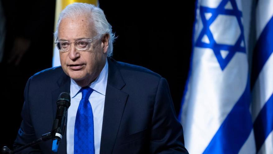 """فريدمان لمستوطني """"سديروت"""": قلبي معكم ولا نمنع مهاجمة قطاع غزة"""