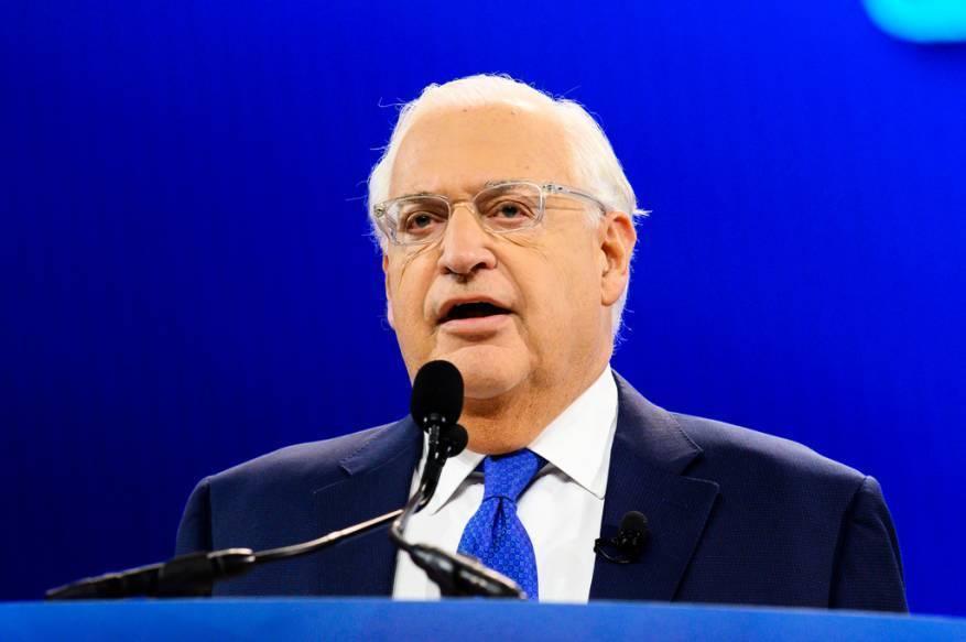 """فريدمان مجددًا: """"إسرائيل"""" أجلت تطبيق السيادة لسنة ولم تلغها"""