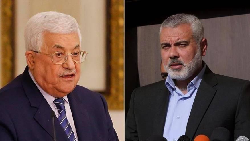 هنــيــة يهاتف عباس ويؤكدان أن القدس في قلب الانتخابات
