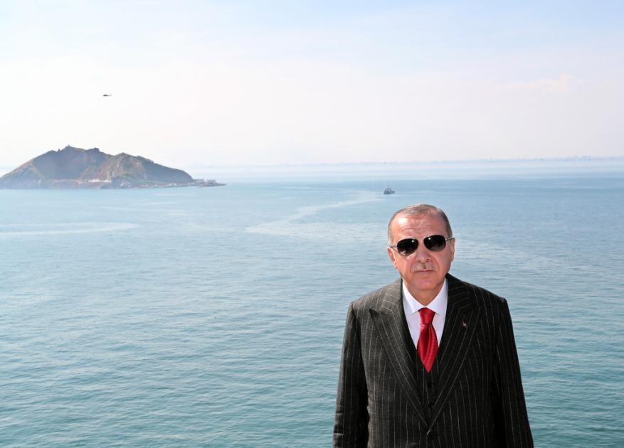 """أردوغان: سنفتتح """"جزيرة الديمقراطية والحرية"""" أواخر 2019"""