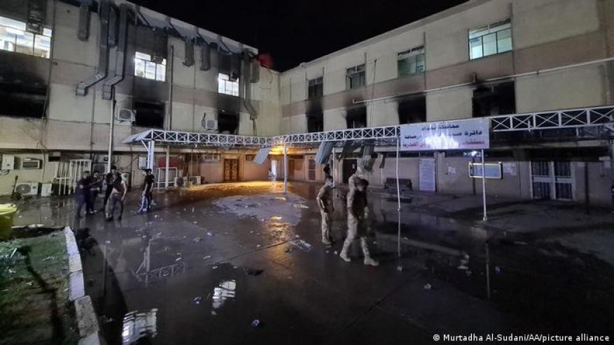 هنــيــة يعزي الرئيس العراقي بضحايا حريق مستشفى ابن الخطيب