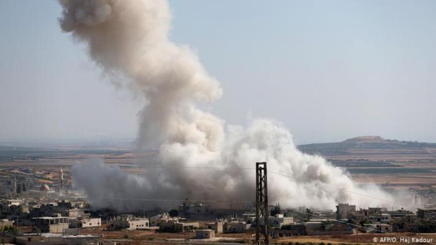 بغطاء روسي جوي مكثف.. تقدم لقوات النظام السوري في إدلب ومقتل العشرات
