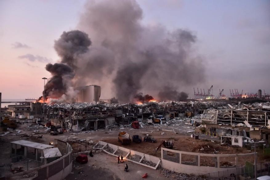 نترات الأمونيوم.. تعرف على وقود انفجار مرفأ بيروت