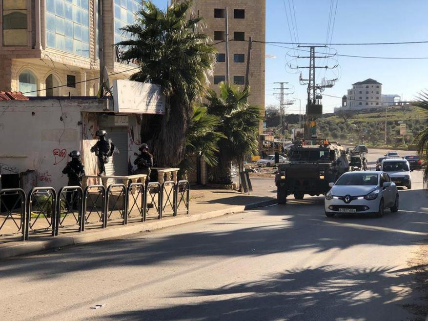 الاحتلال يقتحم حي الماصيون في رام الله