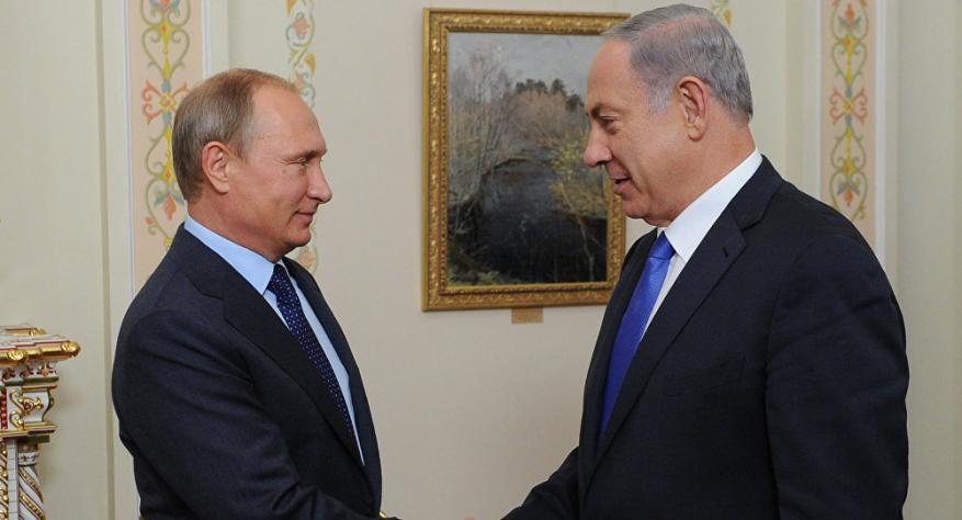 بوتين يبحث مع نتنياهو القضايا المهمة والوضع في سوريا
