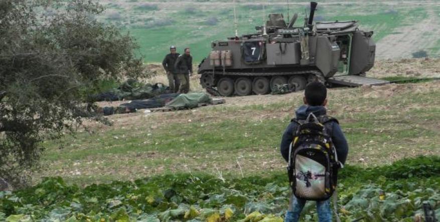 الاحتلال يبدأ تدريباً عسكرياً في الاغوار الفلسطينية