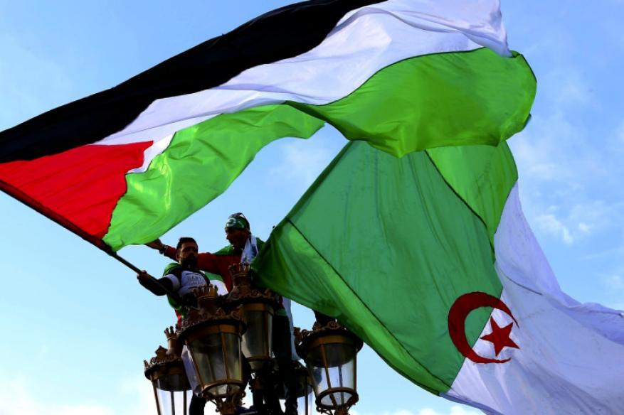 """الجزائر وفلسطين.. """"ظالمة أو مظلومة"""" لرفض """"هرولة التطبيع"""""""