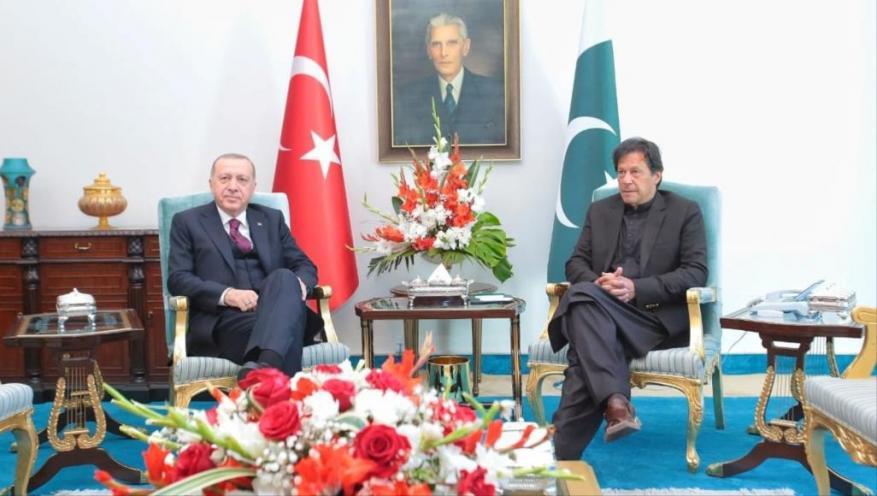 عارض إدراجها على قائمة تمويل الإرهاب.. أردوغان: نهدف لرفع التبادل التجاري مع باكستان