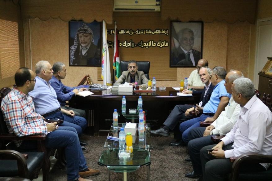 """تفاصيل الاتفاق بين اتحاد المقاولين و""""أونروا"""" بغزة"""