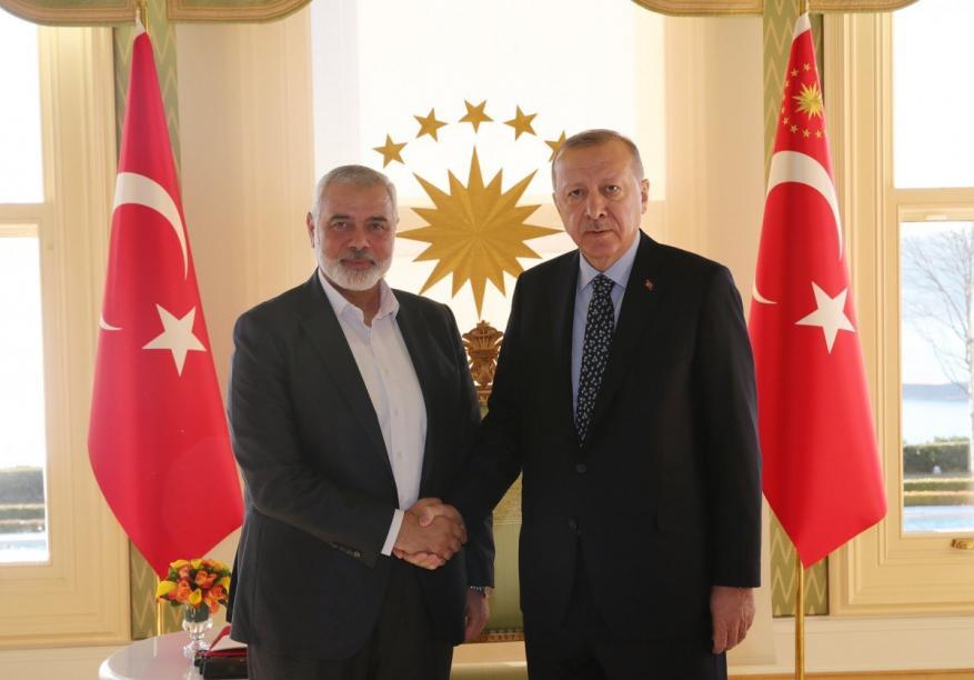 هنية يصل تركيا قادمًا من الدوحة
