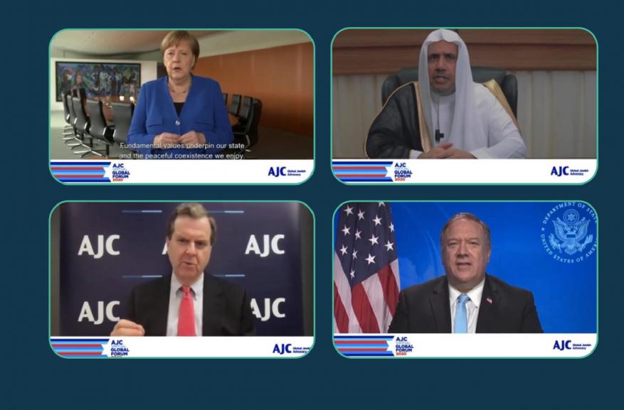"""وزير سعودي سابق بمؤتمر """"اللجنة اليهودية"""" يصف اليهود بـ """"الإخوة"""" ويدعو لإعادة العلاقات"""