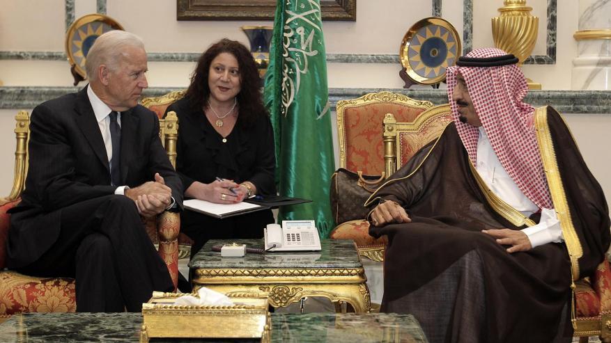 اتصال بين العاهل السعودي سلمان والرئيس الأمريكي جو بايدن