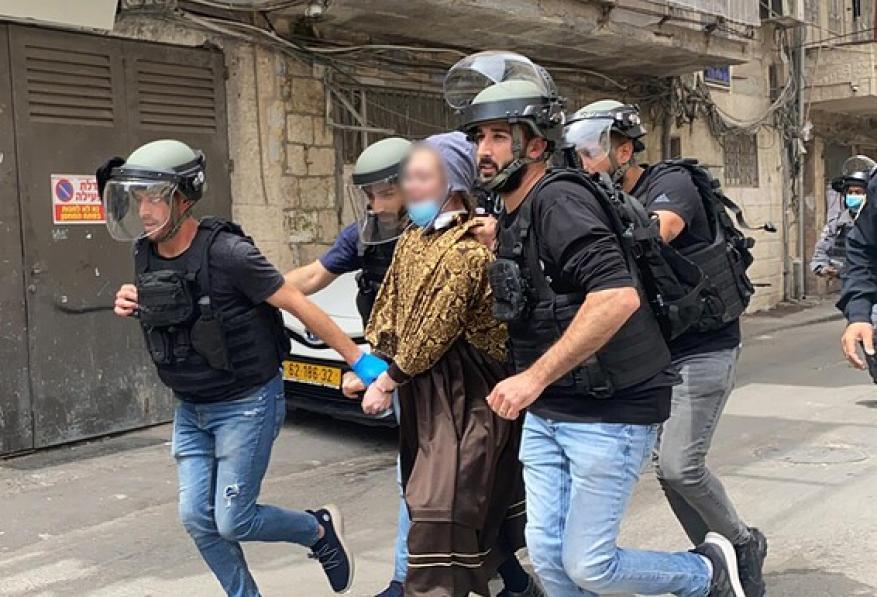 """مواجهات بين """"الحريديم"""" وشرطة الاحتلال بالقدس"""