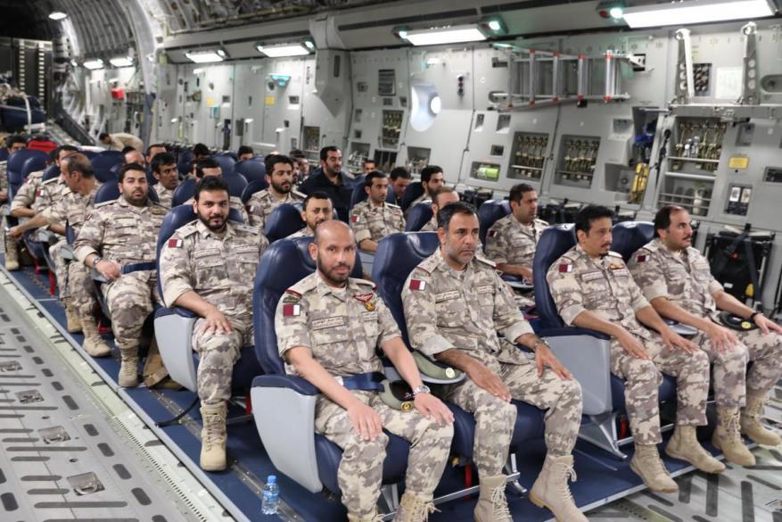 """قطر توضح هدف مشاركتها بتمرين """"درع الجزيرة"""" في السعودية"""
