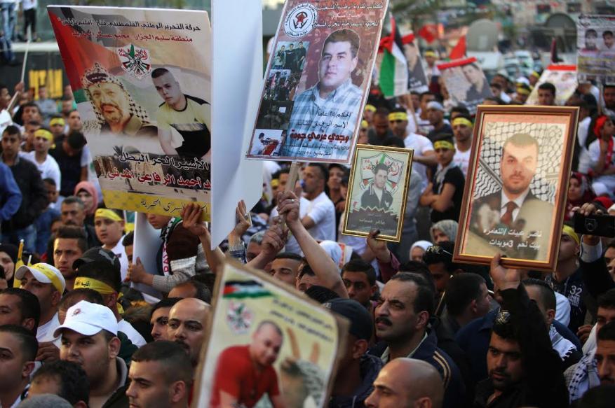 وقفة تضامن وإسناد للأسرى في سجون الاحتلال في بيت لحم