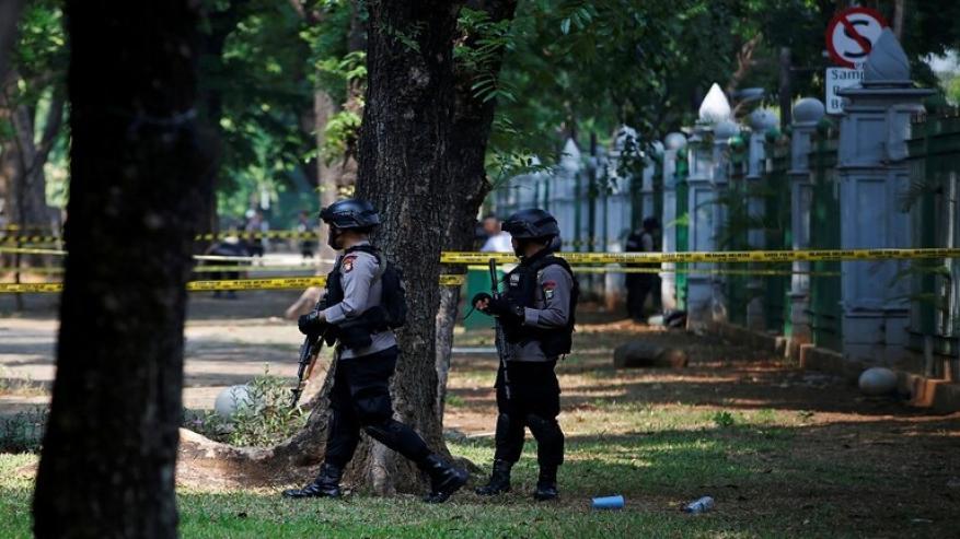 جرحى بانفجار قرب قصر الرئاسة في إندونيسيا