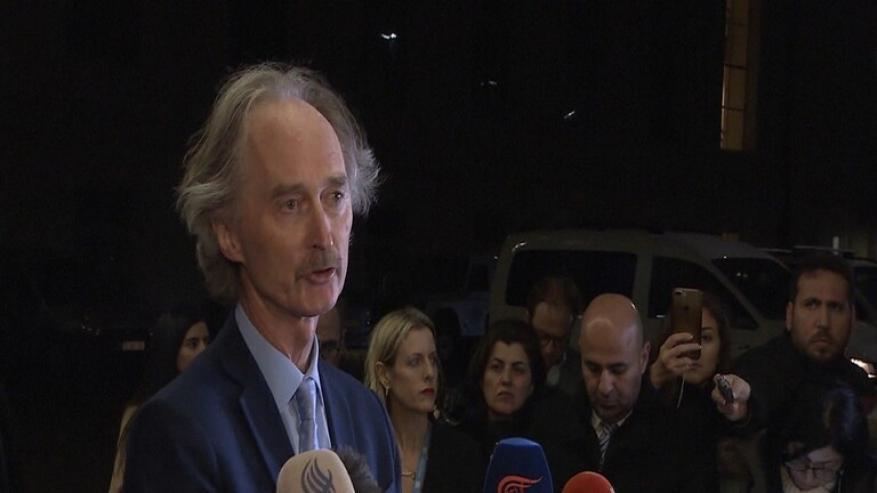 بيدرسون: هدوء هش في سوريا قد ينهار في أي لحظة .. وهناك حاجة لمفاوضات حقيقية
