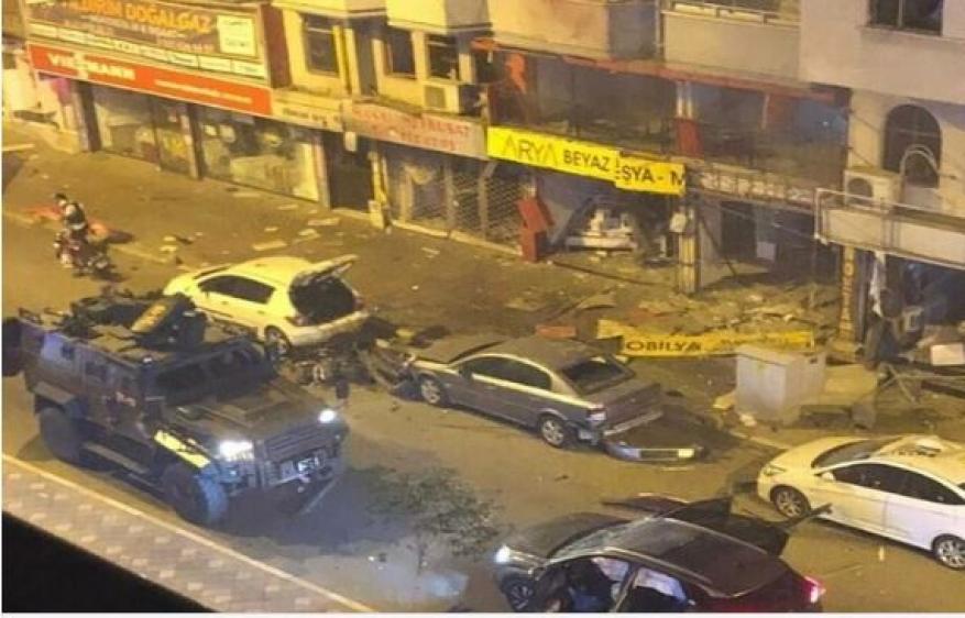 انفجار وسط مدينة هاطاي جنوبي تركيا