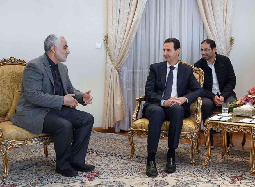 مستشارة بشار الأسد تتحدث عن العلاقة بينه وبين سليماني: الأسد عرف سليماني كنفسه