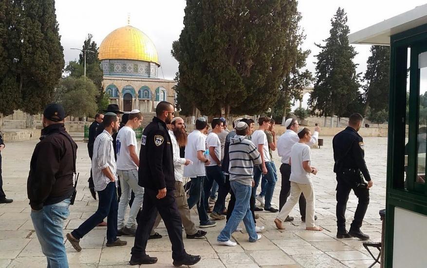 """جماعات """"الهيكل المزعوم"""" تجدد دعواتها لاقتحام المسجد الأقصى غدًا"""