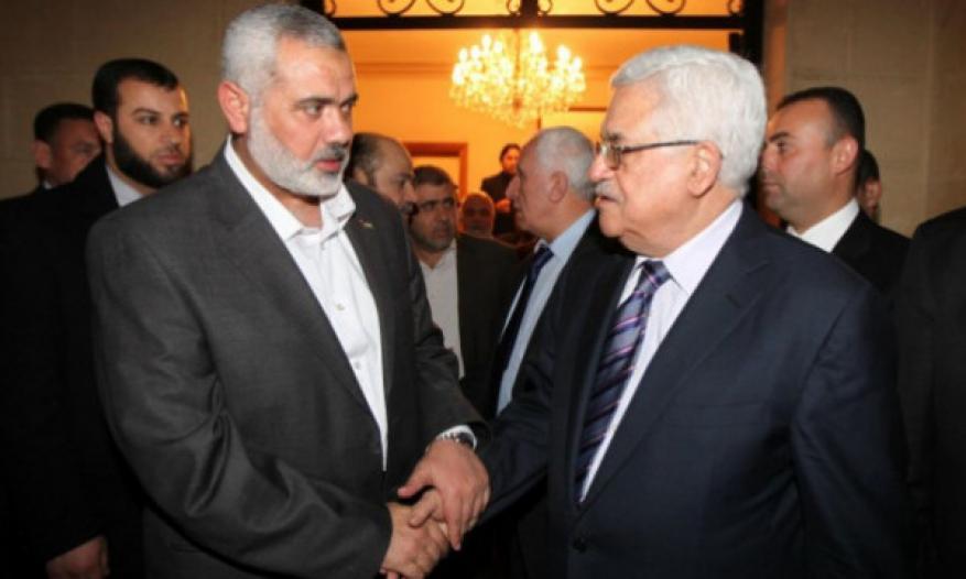 هنية يهاتف عباس ويستعرض التطورات السياسية