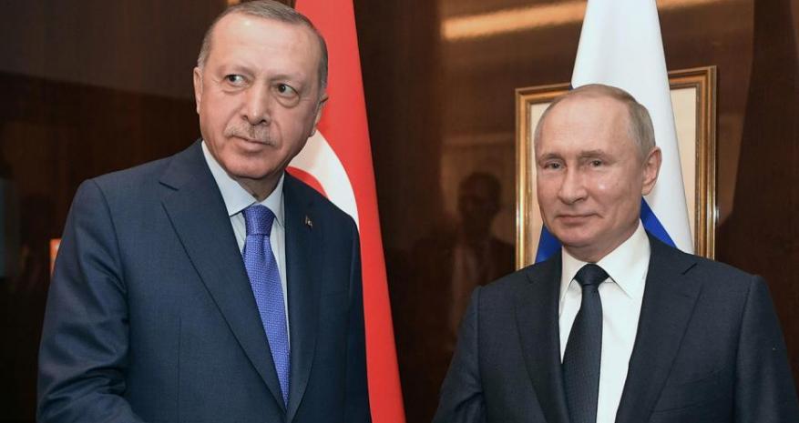 أردوغان يرجح عقد لقاء قريب مع بوتين ويتحدث عن مشكلة في استخدام الأجواء السورية