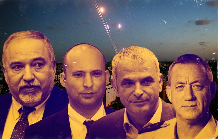 """مفاجأة ضرب """"تل أبيب"""".. كيف رد المسؤولون الإسرائيليون على إطلاق الصواريخ من غزة؟"""