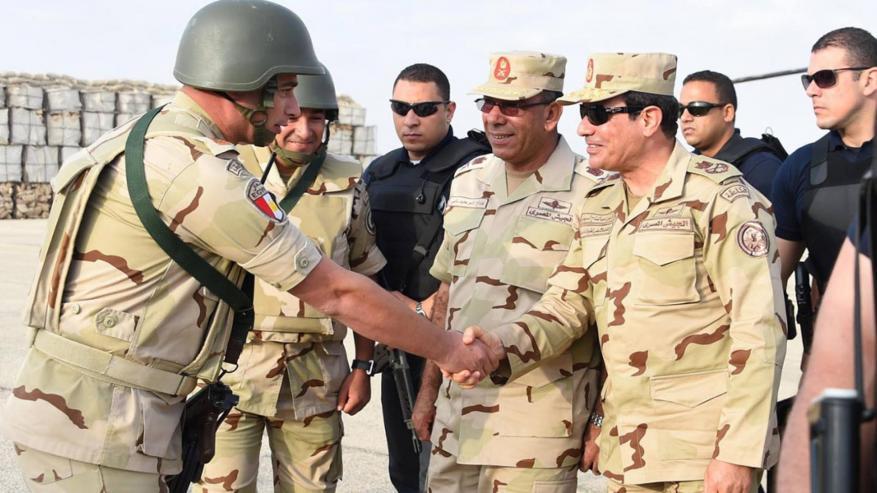 السيسي يقرر تخصيص 47 جزيرة بالبحر الأحمر لصالح القوات لمسلحة