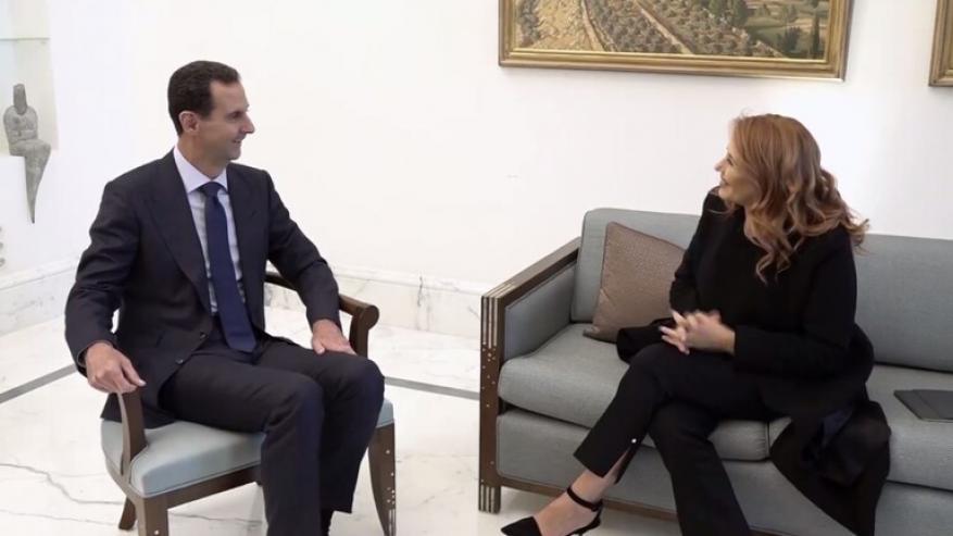 الرئاسة السورية: انتظروا المقابلة التي لم تبث مع الأسد!