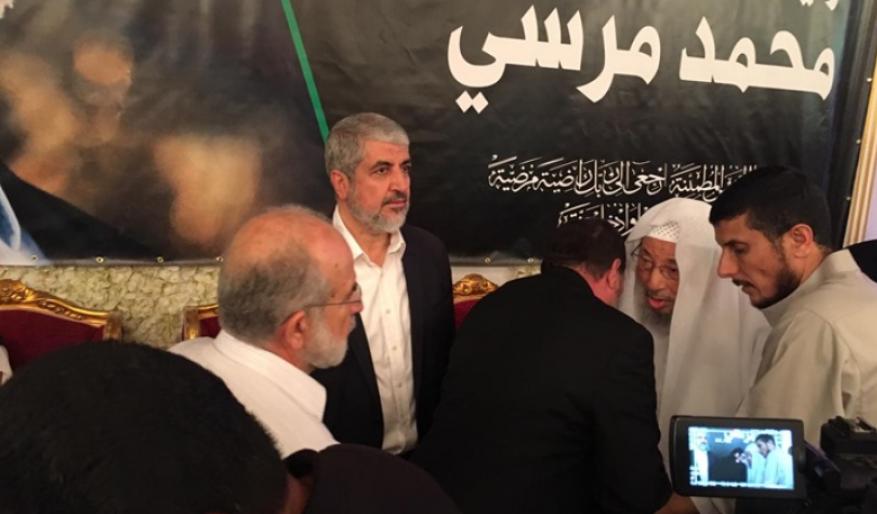 مشعل يتحدث عن مواقف مرسي تجاه فلسطين ويفند الاتهامات بحقه