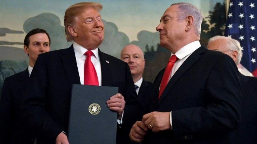 """منظمة إسرائيلية: مصالح شخصية تدفع نتنياهو وترامب لتنفيذ """"الضم"""""""