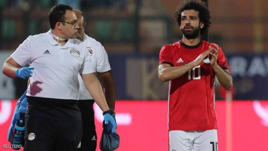 احتمال غياب صلاح عن مباراة مصر القادمة