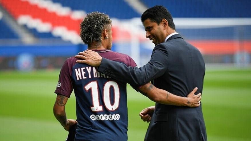 أول تعليق للقطري ناصر الخليفي بعد خسارة فريقه لقب دوري أبطال أوروبا
