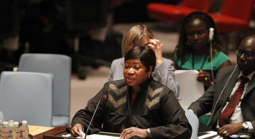 مجلس الأمن.. بنسودا تشيد بصفحة جديدة بين السودان والجنائية الدولية