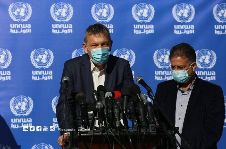 """أعلنت مشاركتها بتطعيم اللاجئين ضد """"كورونا"""".. """"أونروا"""": نتطلع للتعاون مع إدارة """"بايدن"""""""
